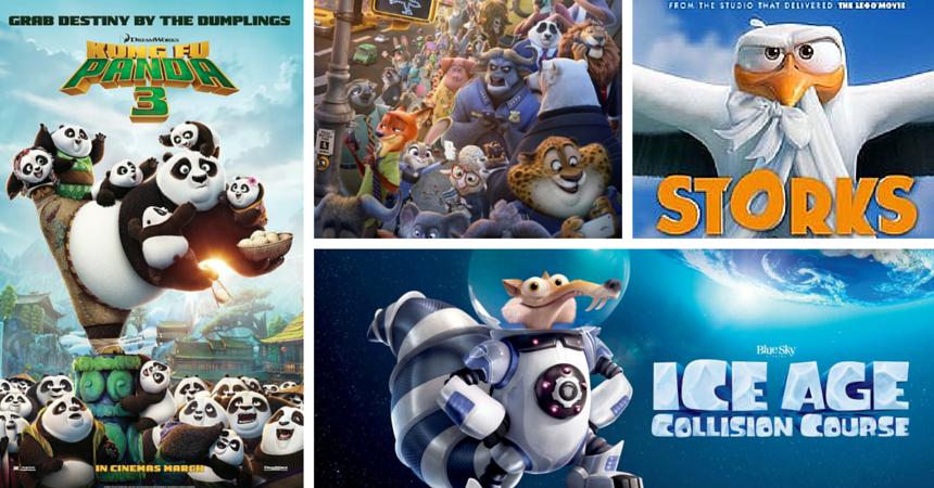 cele mai bune animatii din 2016