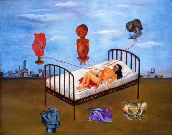 Frida-Kahlo-Henry-Ford-Hospital-1932