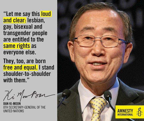 Ban Ki- Moon