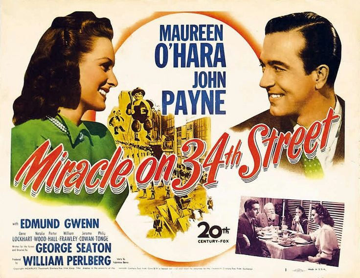 Miracle on 34th Street – 1947