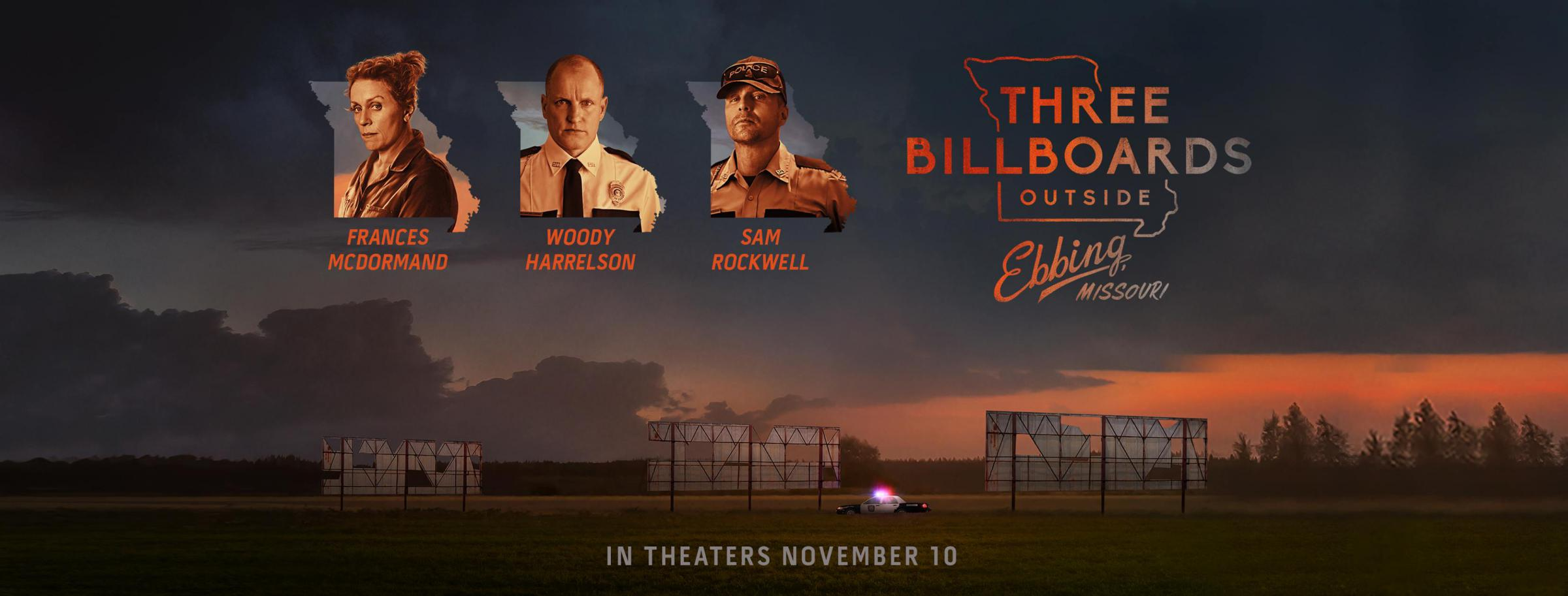Oscar Buzz 2018: Three Billboards Outside Ebbing, Missouri