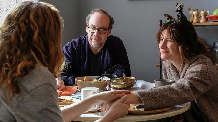 private life Paul Giamatti and Kathryn Hahn