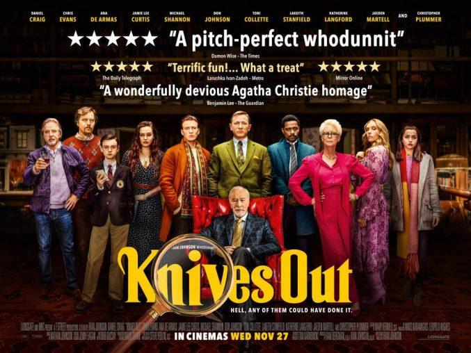 """""""Knives Out / La Cuțite"""" 2019"""